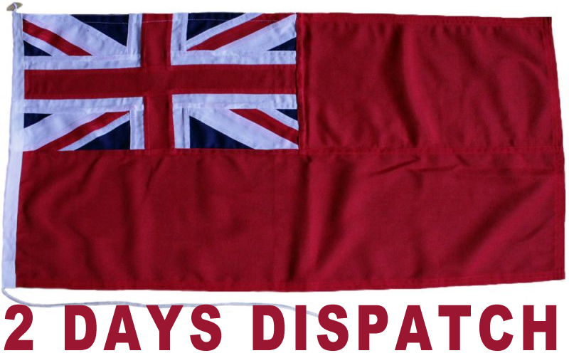 1yd 91x45cm Red Ensign MoD (Faster Dispatch)