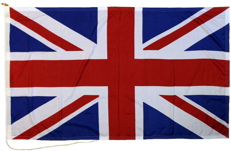 5x3ft 60x36in 152x91cm Union Jack screen printed MoD