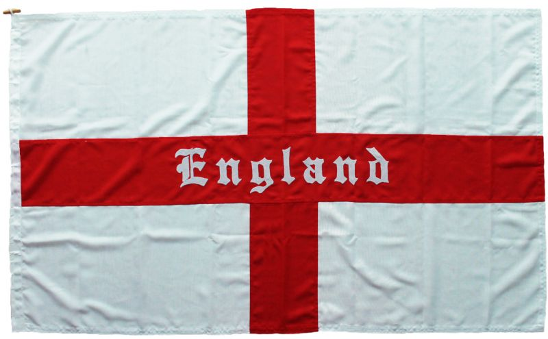 5x3ft 60x36in 152x91cm Custom made St George flag (woven MoD fabric)