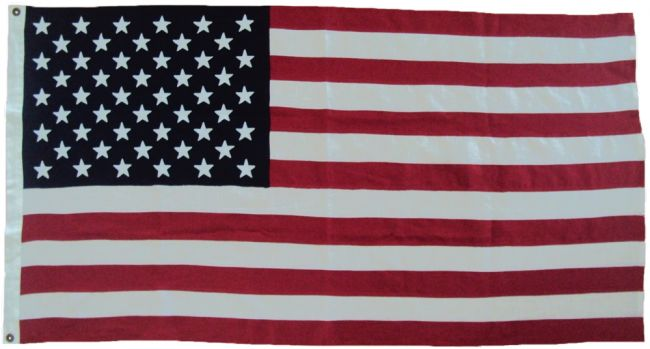 US sewn luxury flag decoration linen cotton cloth stars embroidered image buy american united states