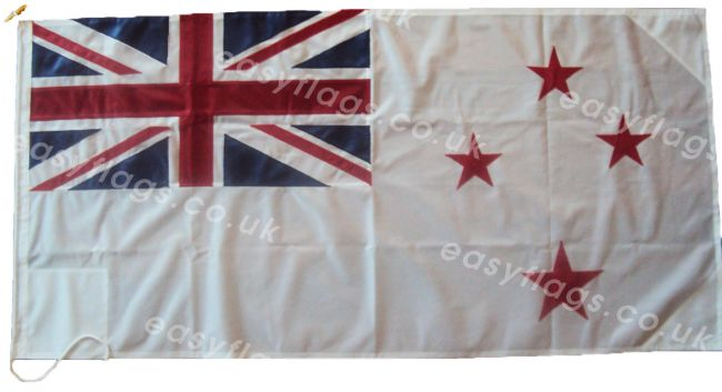 0.75yd 27x13.5in 68x34cm White Ensign