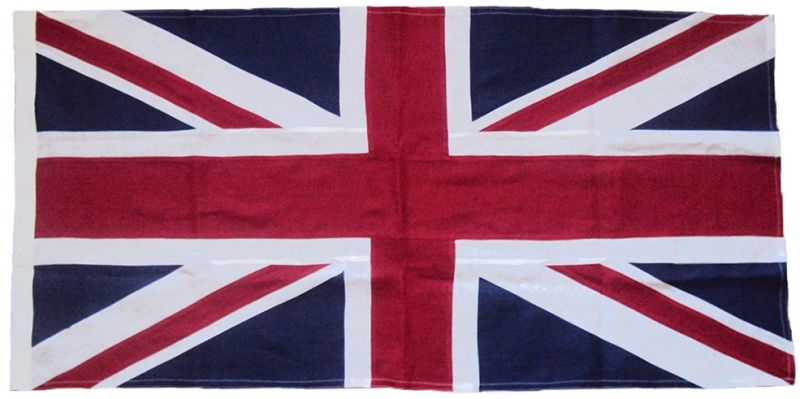 Buy Union Jack sewn cotton flag price british manufacturer uk size image