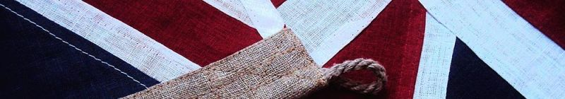 sewn stitched british linen natural cloth flag buy image photo