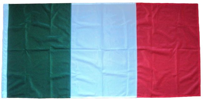 Sewn Italy Italian flag stitched buy price image size yd