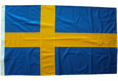 18x12in 45x30cm Sweden (Car flag size)