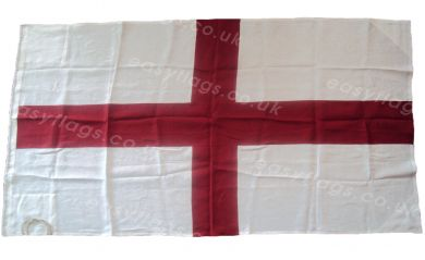 Buy England flag cloth sewn linen Englsih St. George Cross image