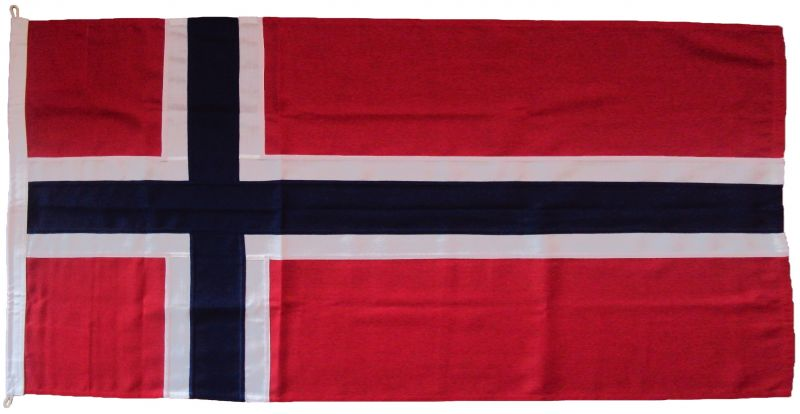 1yd 36x18in 91x45cm Norway Flag