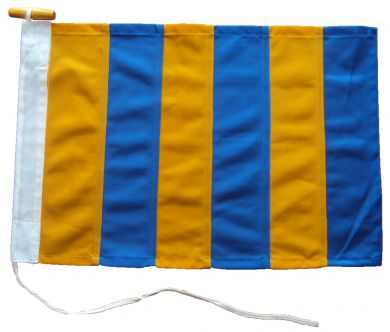 30x24in 76x61cm Golf G signal flag British Navy Size