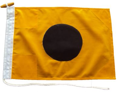 36x30in 91x76cm India I signal flag French Navy Size