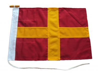 30x24in 76x61cm Romeo R signal flag British Navy Size