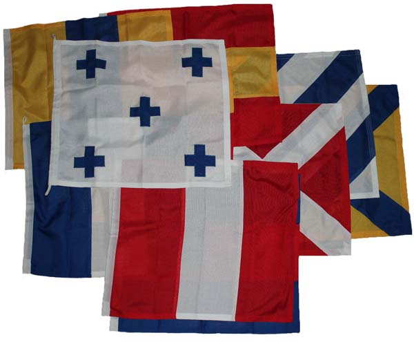 NATO signal flags 0-9